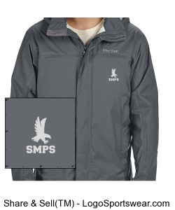 Marmot Mens Precip Jacket with Embroidered Logo Design Zoom
