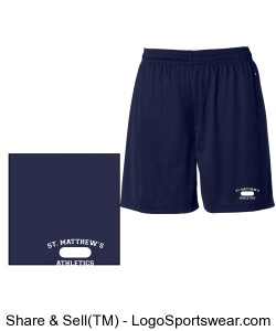 Mens PE Uniform Approved Shorts with 7 inch Inseam Design Zoom